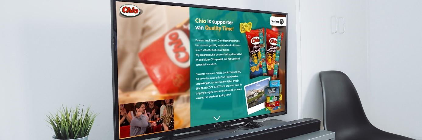 Sbs lanceert nieuwe vorm van interactieve tv reclame met for Tuinprogramma op tv