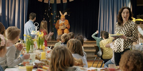 Jumbo Gezin Viert Pasen In Nieuwe Commercial