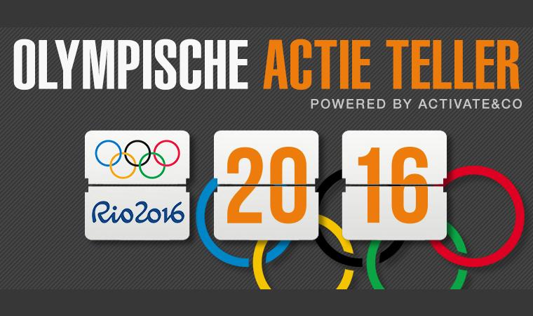 olympische actie teller: alle inhakers op een rij