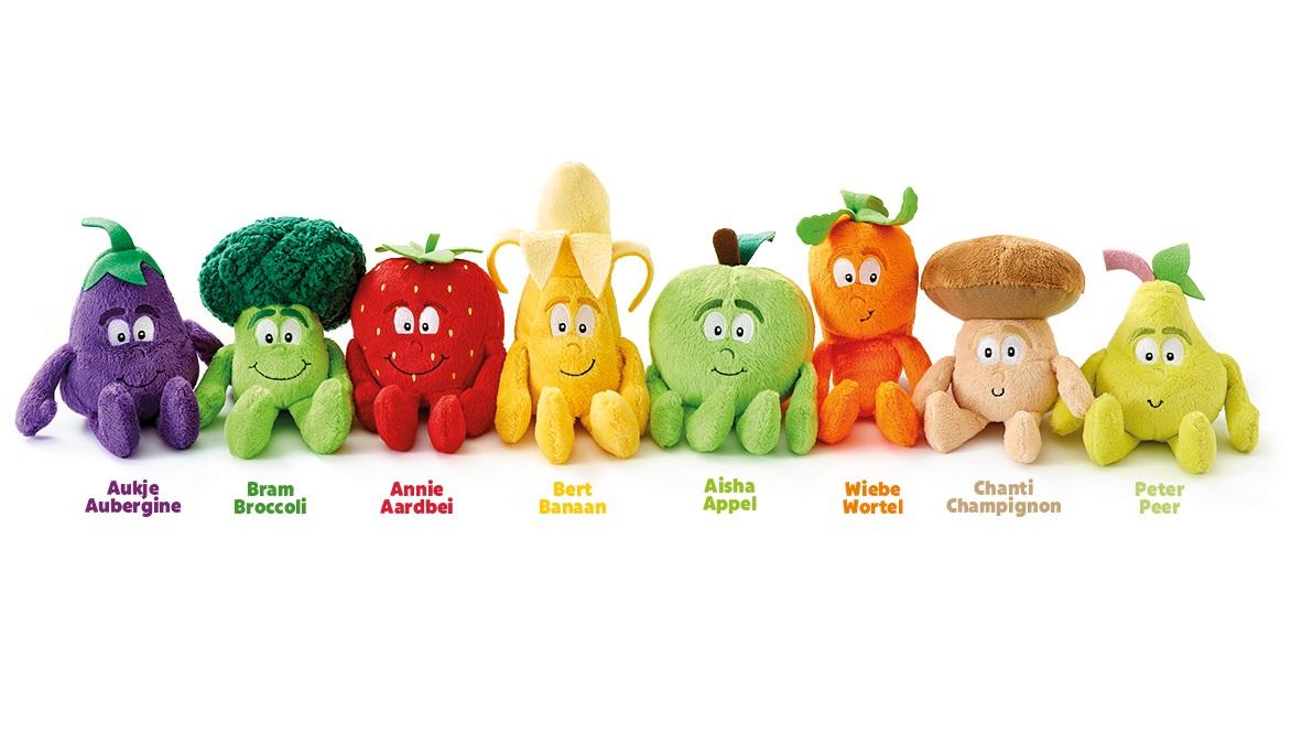 Lidl Zet In Op Gezondheid Met Spaaractie Groente En Fruitknuffels