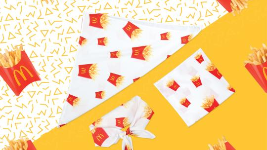 McDonald's bandana