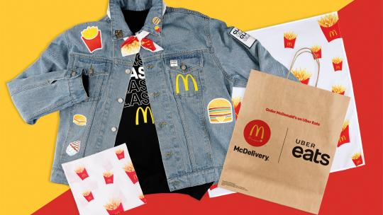 McDonald's spijkerjasje