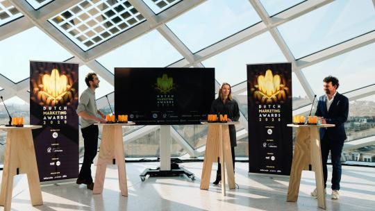 Dutch Marketing Awards live in virtual studio van Capital C