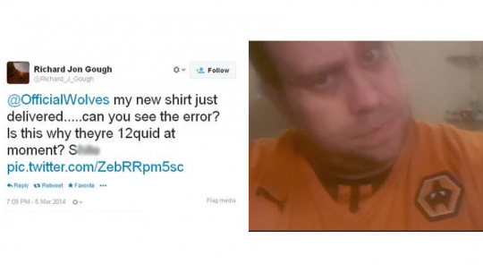 De klacht en het shirt