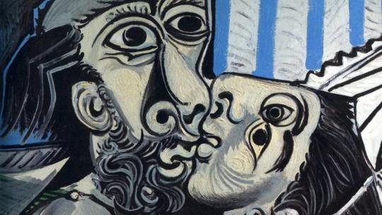 Pablo Picasso - The Kiss (1969)