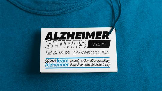 Steun Team Alzheimer, want elke 10 minuten komt er een patient bij
