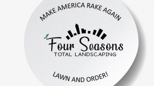 sticker landscaping
