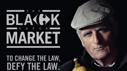 Black Supermarket van Carrefour