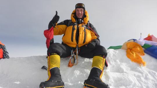Niels van Buren ging na diagnose MS bergen te beklimmen en fondsen werven via stichting Mission Summit