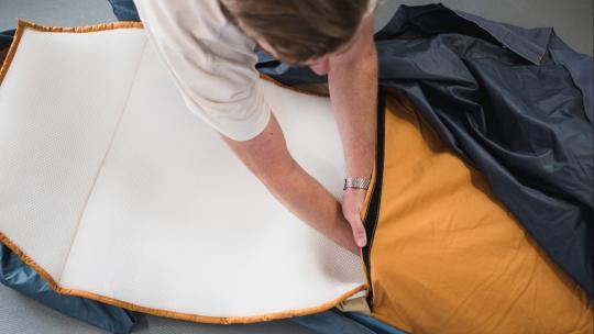 Ontwikkeling Shelterbag