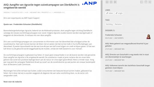 De expert-duiding van Dier&Recht-directeur Frederieke Schouten