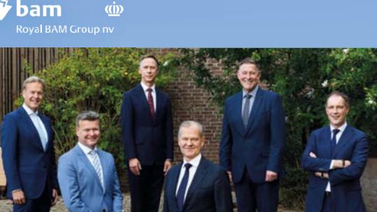 Executive committee van BAM