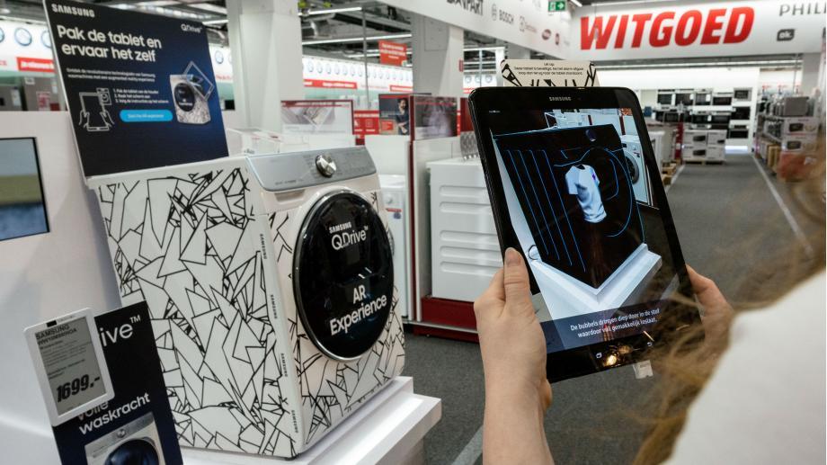 AR-Experience Samsung 2