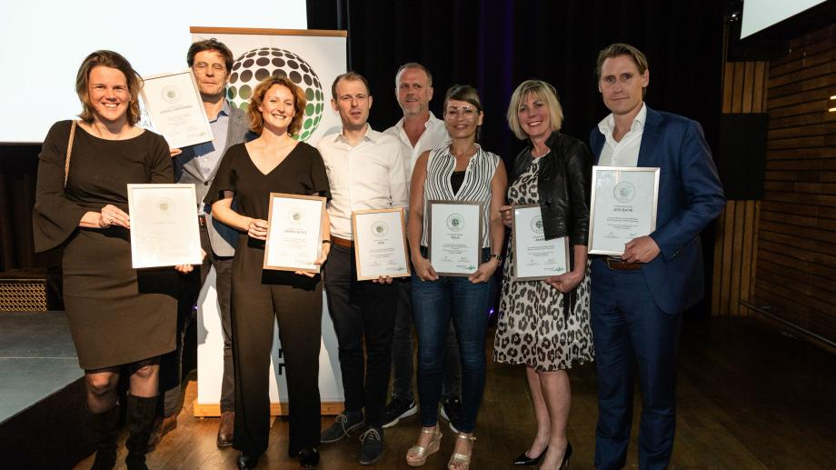 Winnaars Sustainability Index 2018