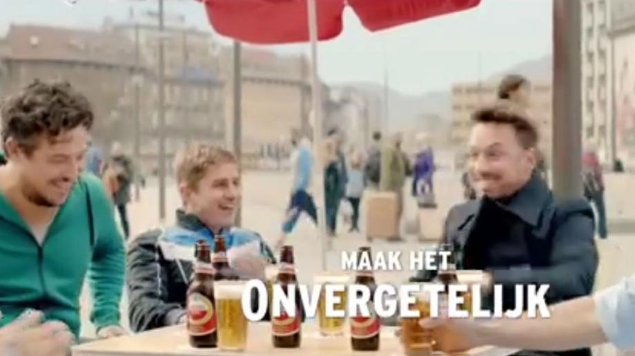 De Amstel-vrienden uit 'Maak het onvergetelijk'