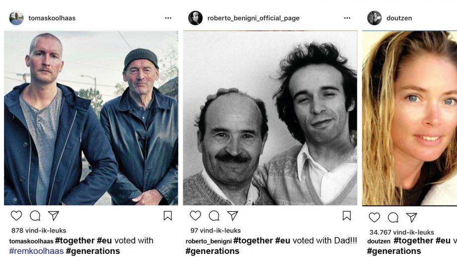 Instagram-campagnes EU