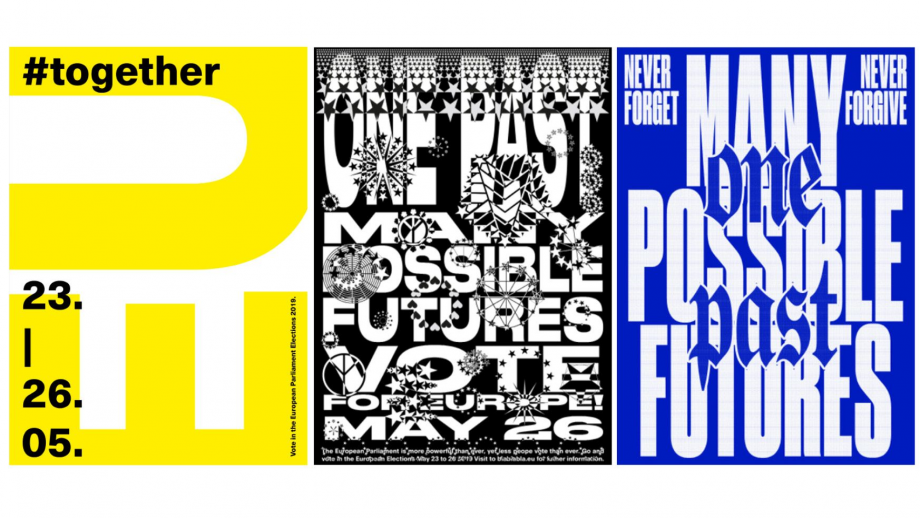 Rebranding, Europa, posters