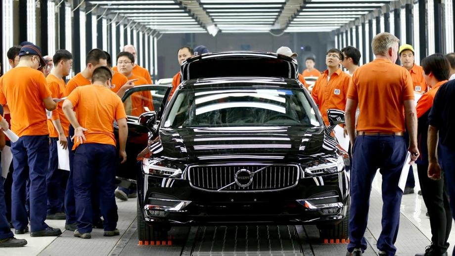 Volvo-productie in China