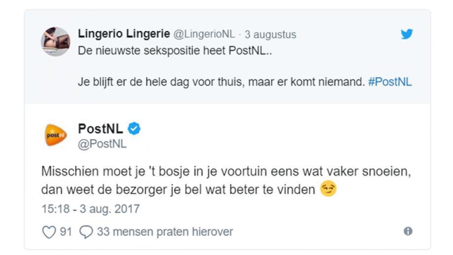 PostNL, brutaal