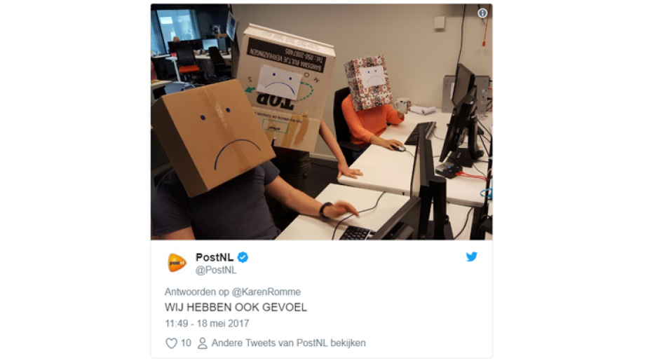 PostNL reactie