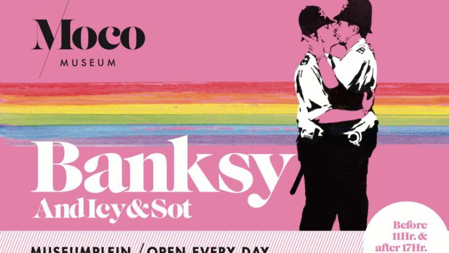 Moco, Banksy, Pride