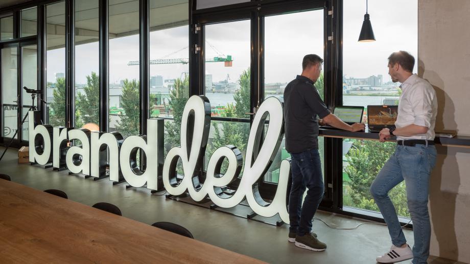 BrandDeli signage