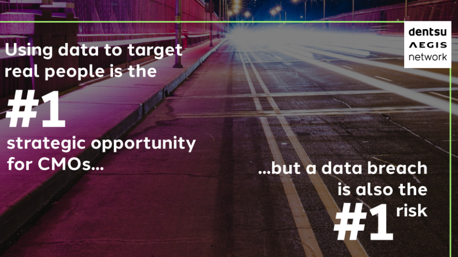 Using data to target real people is the #1 strategic opportunity for CMOs