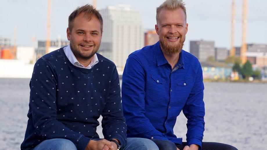 Jelmer Wind (l) en Tom Schoufs