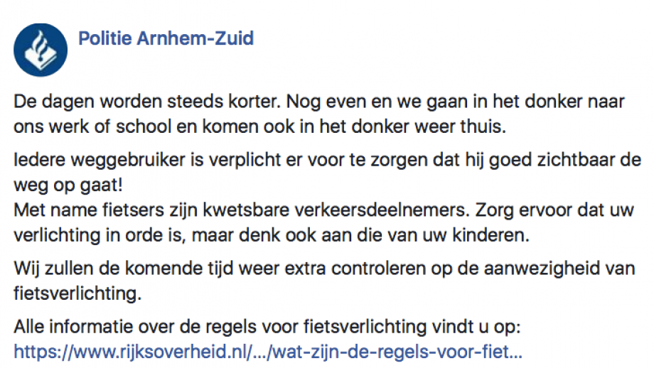 Politie Arnhem