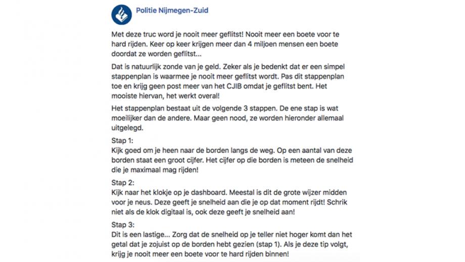 Politie Nijmegen