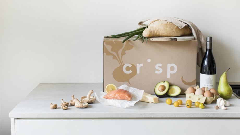 Mood-plaatje van de Crisp-box