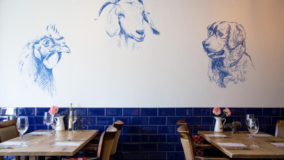 Restaurant De Vegetarische Slager in Den Haag