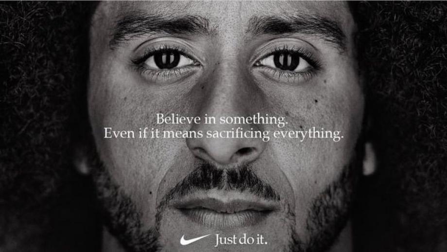 Kaepernick in Nike-campagne
