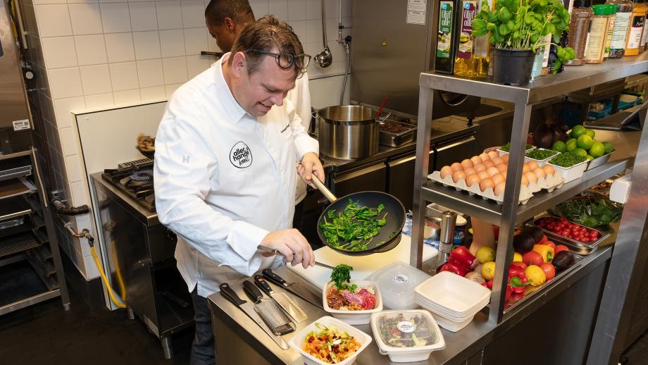 De keuken van Allerhande Kookt in Amsterdam-West