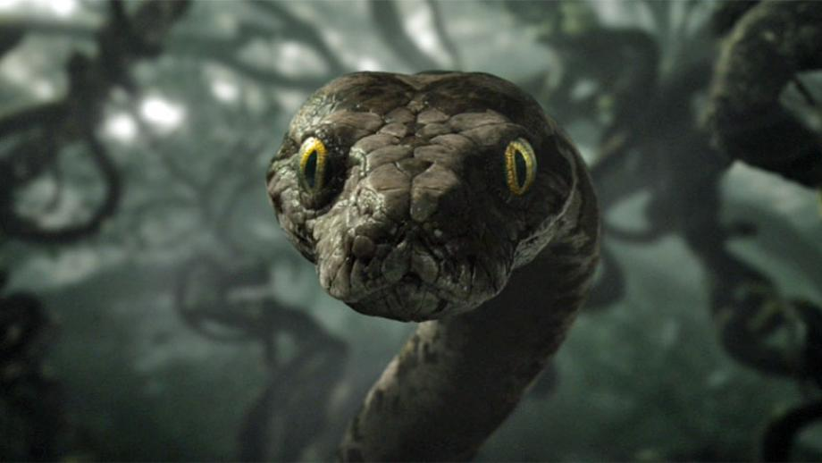 Kaa in de remake van de Jungle Book