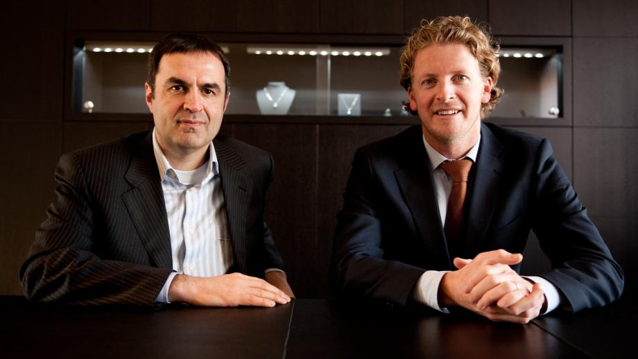Oprichters Stefaan Mouradian en Steven Boelens