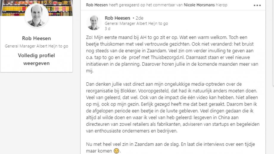 Rob Hesen LinkedIn