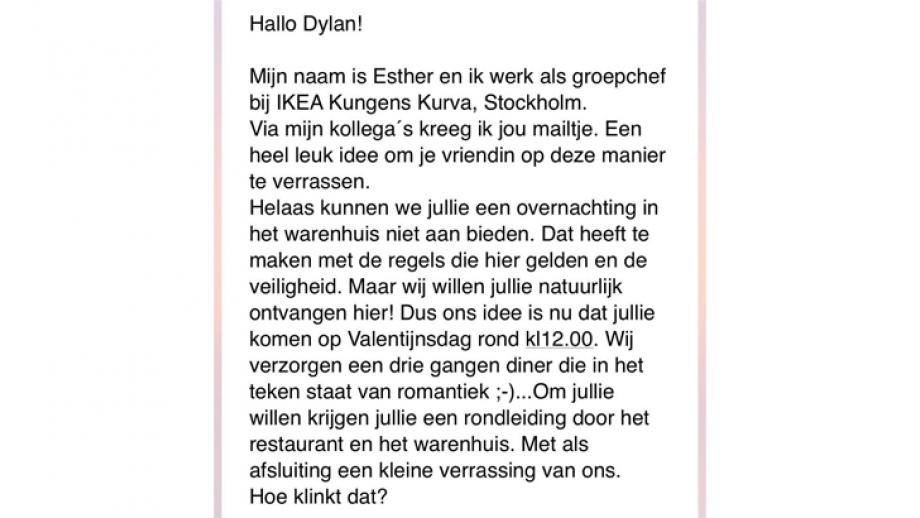 Reactie Ikea 2