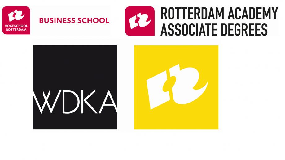 logo's hogeschool rotterdam