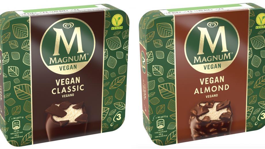 Veganistische Magnum 'Classic' en 'Almond'