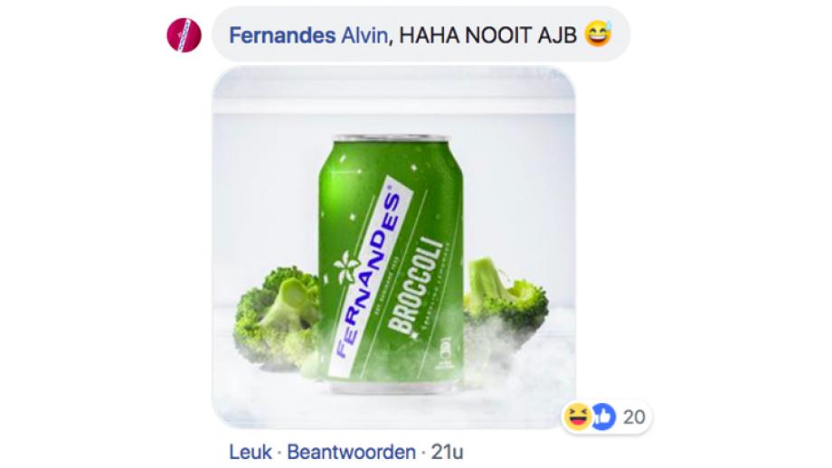 Reactie Fernandes