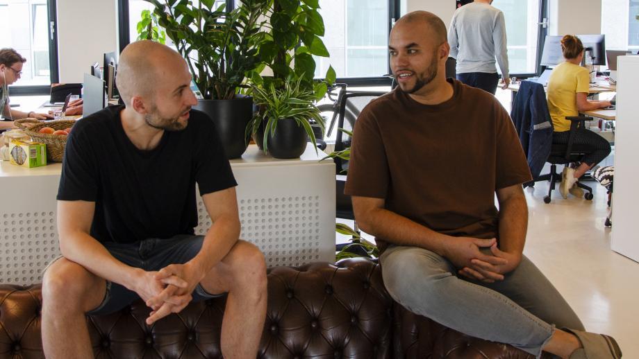 Niels Arntz en Kenneth Wijngaarde