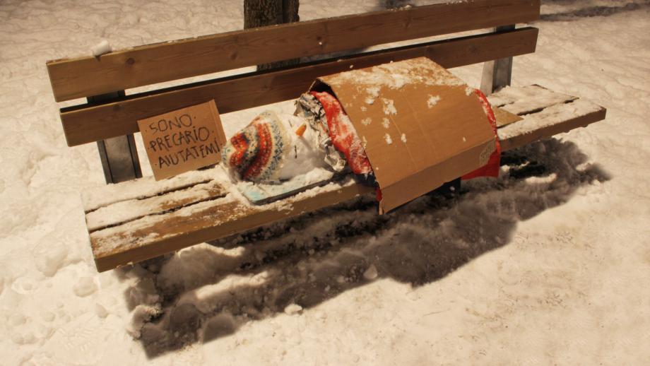 #2: Biancoshock - Precarious | Milaan, 2012