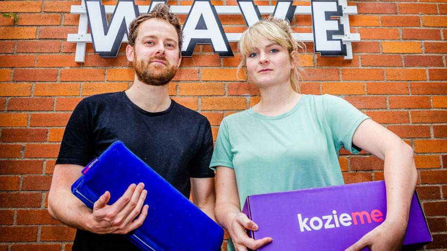 Roos Meerman en Tom Kortbeek