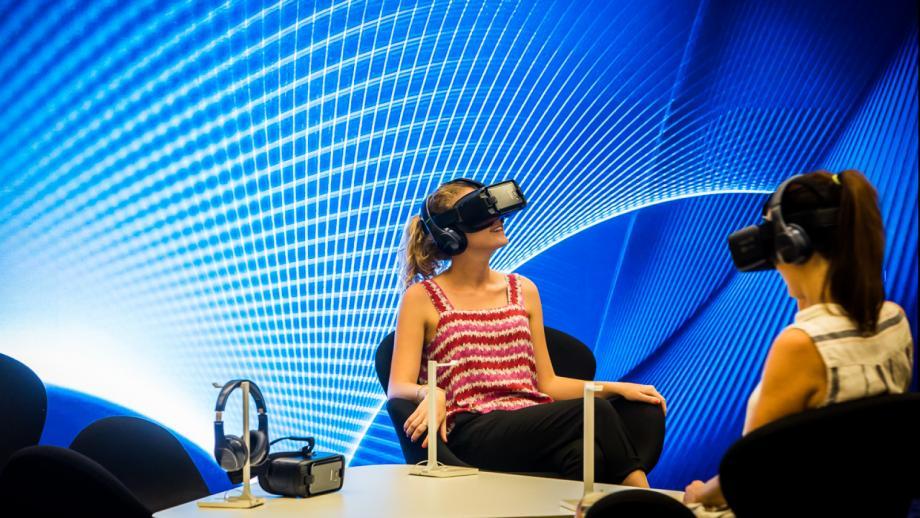 De VR-lounge