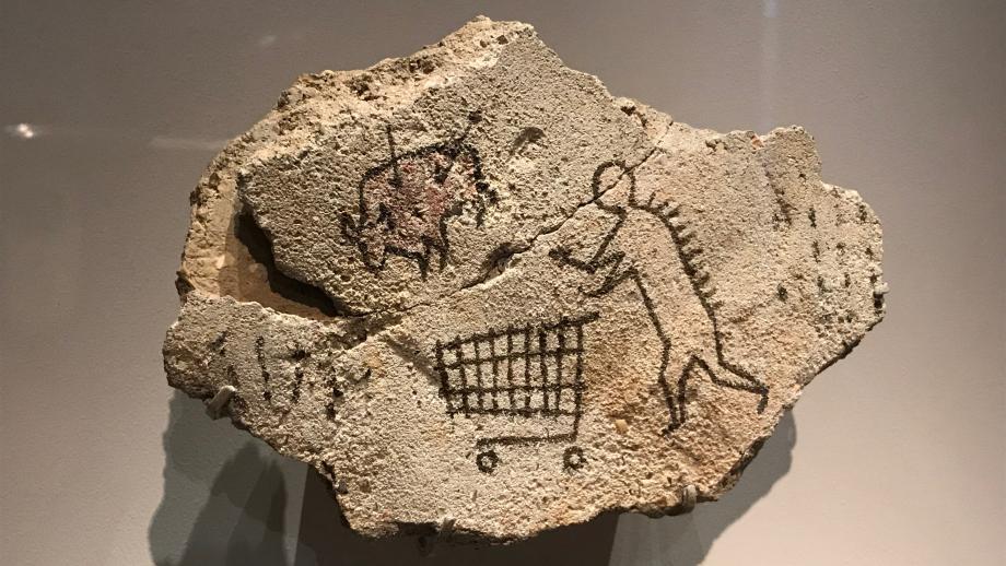 #3: Banksy - Peckham Rock (deze heeft Banksy zelf in het British Museum gelegd in 2005