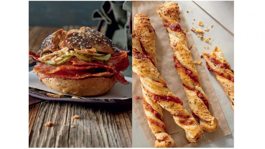 Broodje buikspek en de Pizza Twister (geen humus, quinoa en pijnboompitten dus)