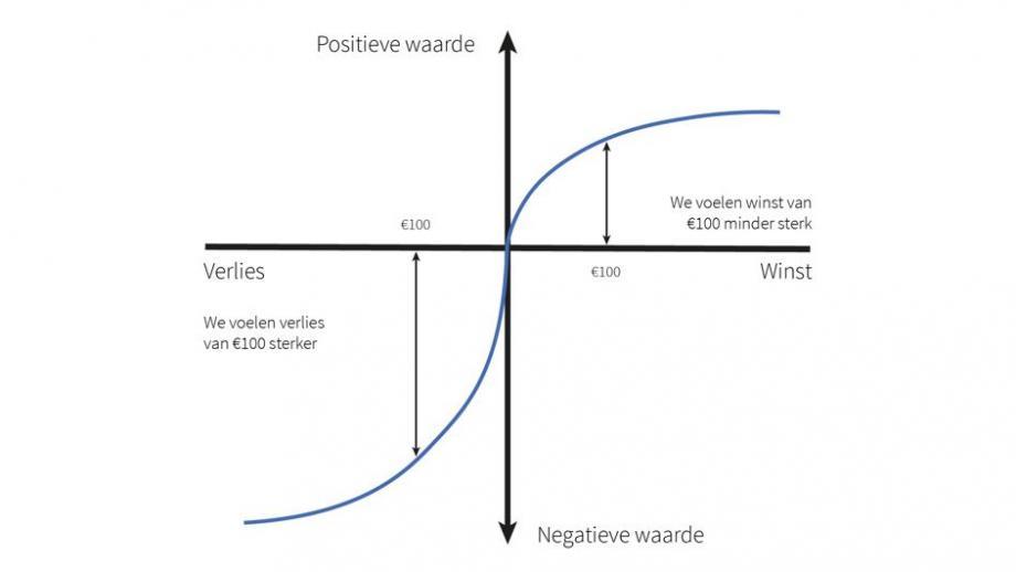 Prospect theory grafiek