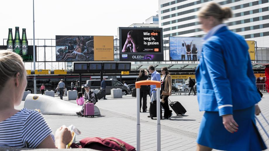 Amber Alert op AstroVision Schiphol