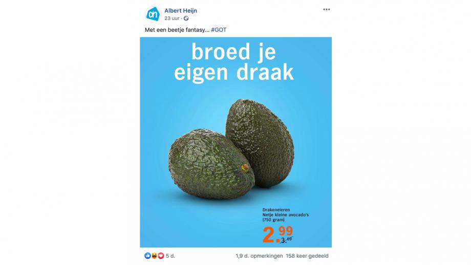 avocado-draak